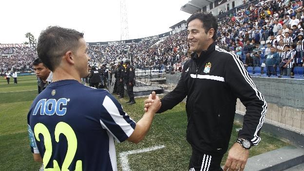 Daniel Ahmed le ganó la final del Clausura a Alianza Lima en el 2014. (Leonardo Fernández)