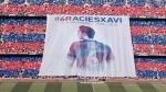 Barcelona: Xavi Hernández fue recibido así por el Camp Nou (VIDEO)