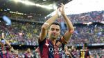 Barcelona: Xavi Hernández y lo que dijo en su despedida en el Camp Nou