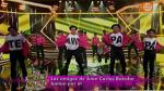 Juan Carlos Bazalar: exfutbolistas bailaron salsa en El Gran Show por él - Noticias de miguel carty
