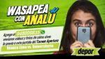 Alianza Lima vs. Universitario de Deportes: así fue el wasapea con Analú del clásico - Noticias de kevin villanueva fernández