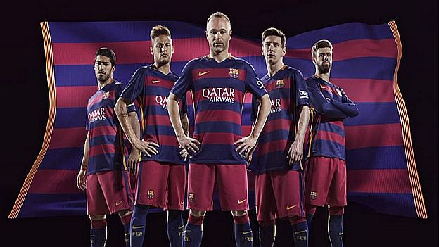 La nueva camiseta del Barcelona ha generado críticas entre sus hinchas f65cdb58e41