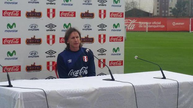 La Selección Peruana empezó a entrenar esta mañana en Videna. (Analú Rodríguez/Mauricio Motta)