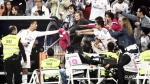 Cristiano Ronaldo alborotó a los hinchas del Real Madrid en el Bernabéu - Noticias de casa grande