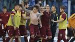 Roma ganó 2-1 a Lazio y clasificó a los grupos de Champions League