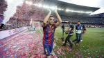 Xavi Hernández y la celebración con su familia tras despedida en Barcelona