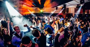 Mónaco GP: la música electro fue la reinante en la fiesta después de la carrera. (Mundo Deportivo)