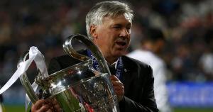 Carlo Ancelotti estuvo en el Real Madrid dos temporadas (2013-14, 2014-15)