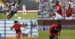 En esta fecha del Torneo Apertura destacaron Carlos Preciado, Luis Tejada, Carlos Ascues y Pierre Larrauri. (USI)