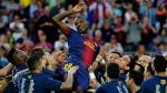 Eric Abidal dio su once histórico tras retirarse del fútbol (FOTOS) - Noticias de eric abidal