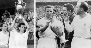Champions League 1958/59: Real Madrid 2 -0 Stade de Reims. Los blancos se llevaron el título en el Neckarstadion de Stuttgart. (UEFA)