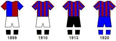 43f9884d64272 Barcelona  la historia de su camiseta y la cronología de sus diseños ...