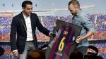 Xavi Hernández rompió en llanto en su despedida definitiva del Barcelona