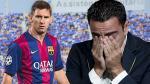 Barcelona: Lionel Messi no asistió a la despedida de Xavi por culpa de...