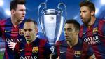 Barcelona: Messi, Xavi, Iniesta y Piqué por un súper récord de campeones en Champions League - Noticias de clarence seedorf