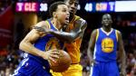 NBA: Golden State derrotó a Cleveland Cavaliers por 103-82 en la cuarta final - Noticias de matthew green