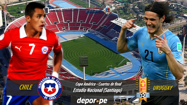 Chile gan 1 0 a uruguay y jugar a ante per en for Euroliga cuartos de final