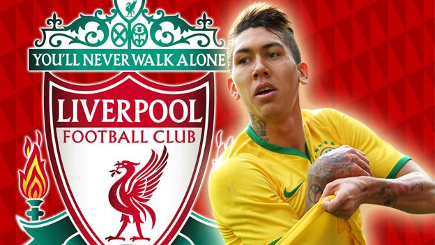 Liverpool fichó al brasileño Roberto Firmino por 46 millones de dólares (VIDEO)