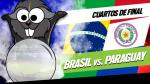 Brasil vs. Paraguay: el Cuy Yimi jura que no fallará con su pronóstico