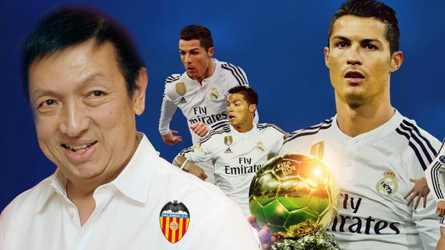 Cristiano Ronaldo: sus derechos de imagen son comprados por el dueño ¡del Valencia!