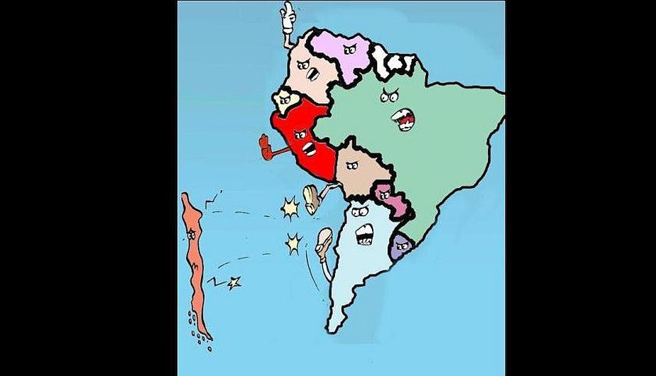 Resultado de imagen para memes chile sudamerica