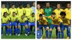 Brasil: la diferencia de su equipo titular a 13 años del pentacampeonato