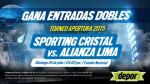 Sporting Cristal vs. Alianza Lima: Depor te regala entradas dobles - Noticias de alianza lima vs sporting cristal