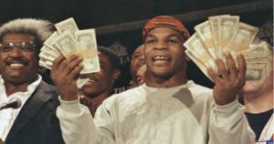 Celebrity Net Worth indica que la fortuna actual de Mike Tyson es de apenas 1 millón de dólares, pese a que alcanzó un patrimonio de 300 millones, durante el pico más alto de su carrera. (YouTube)