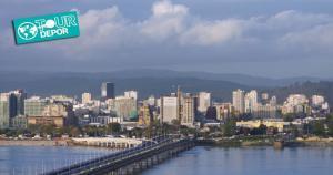 Una vista panorámica de Concepción, la ciudad donde la Selección Peruana enfrentará a Paraguay. (Internet)
