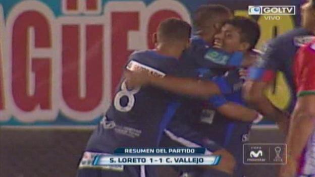 César Vallejo empató 1-1 con Sport Loreto en Pucallpa