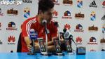 Sporting Cristal: Daniel Ahmed criticó habilitación de Gabriel Costa (VIDEO) - Noticias de informalidad