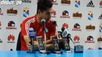 Sporting Cristal: Daniel Ahmed criticó habilitación de Gabriel Costa (VIDEO)