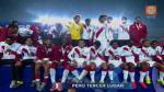 Perú fue premiado con medallas de bronce en la Copa América (VIDEO) - Noticias de bolivia vs. perú