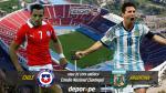 Sigue el Chile vs Argentina: EN VIVO online por la la final de Copa América - Noticias de real madrid