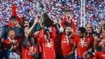 Chile es campeón de la Copa América por primera vez en su historia. Así celebraron los chilenos. (Getty Images)