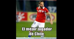 Gonzalo Higuaín el 'MVP' del partido (Meme deportes)