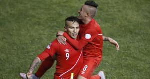 Paolo Guerrero y Christian Cueva entre los más destacados de la Copa América Chile 2015. (Reuters)