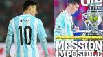 Lionel Messi: prensa argentina lo destroza a él y sus compañeros tras derrota - Noticias de paolo guerrero