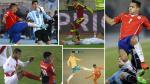 Copa América: las peores patadas del torneo juntas en un solo video - Noticias de paolo guerrero
