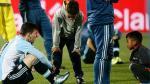 Lionel Messi: ¿qué le dijeron los niños que lo consolaron tras perder la final? - Noticias de martin dempsey