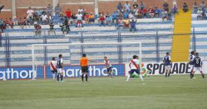Así lucía el estadio de Deportivo Municipal antes del receso. (Deportivo Municipal)