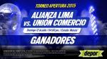 Alianza Lima vs. Unión Comercio: estos son los ganadores de entradas dobles - Noticias de elmer medina medina