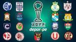 Torneo Apertura: fecha, hora, canal y árbitros de los partidos de la fecha 10 - Noticias de luis fernando rodriguez espinoza