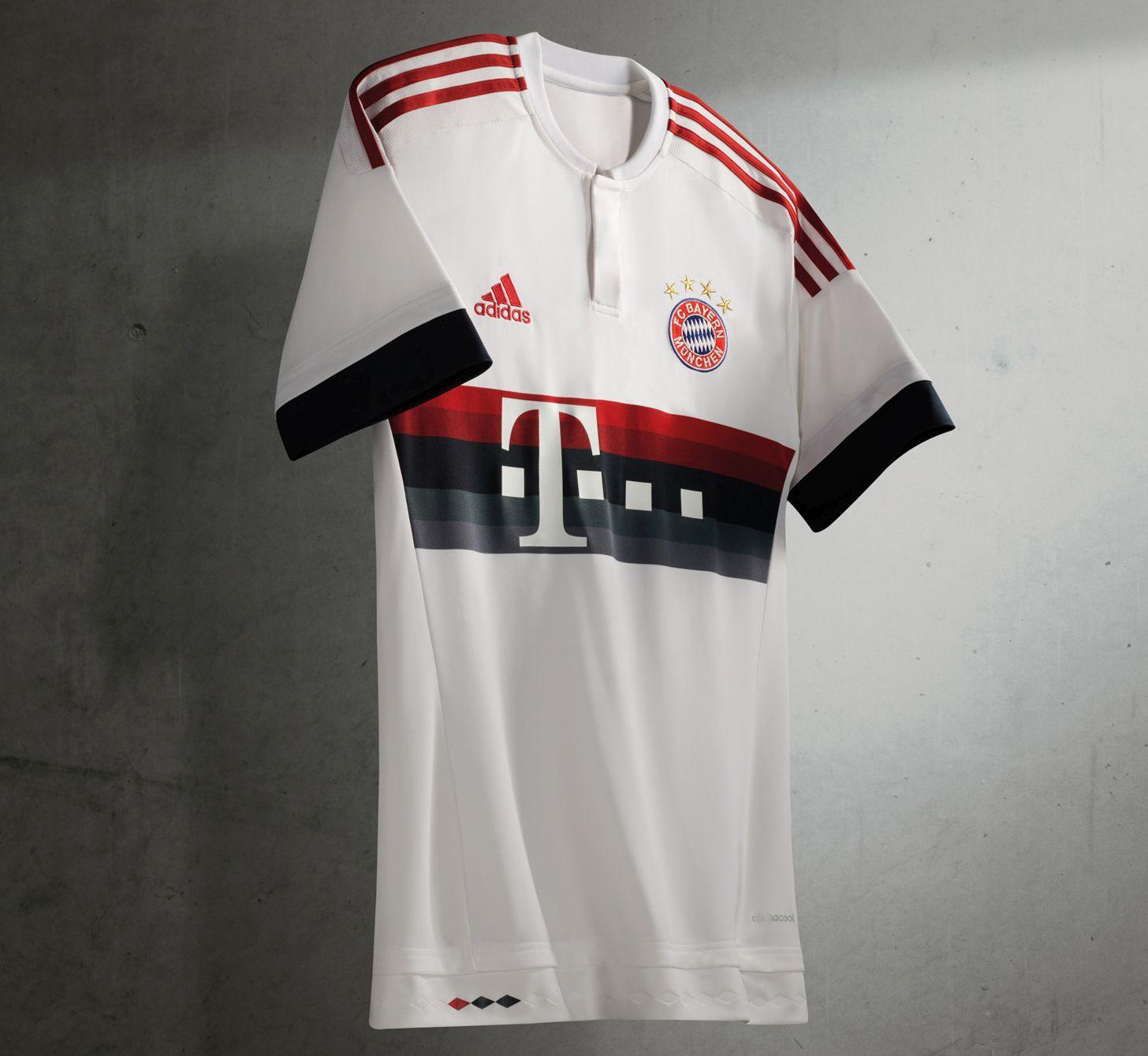 Bayern Munich presentó camiseta alterna para la nueva temporada ... 53824b80be8bc