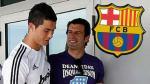 Barcelona: 'Cristiano Ronaldo' y 'Luis Figo' fueron a votar al Camp Nou - Noticias de joan laporta