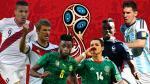Rusia 2018: así se jugarán las Eliminatorias en todas las confederaciones - Noticias de colombia vs camerun