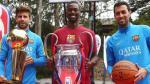 Barcelona: Gerard Piqué se lució con tremenda canasta a lo NBA (VIDEO) - Noticias de copa mundial de baloncesto