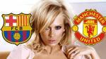 Barcelona vs. Manchester United: ¿por qué los clubes hacen sufrir a esta actriz porno? - Noticias de actriz porno
