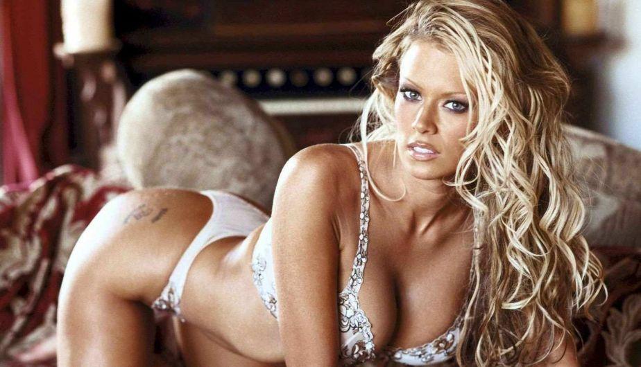 Jenna Jameson era una afamada actriz pornográfica. Tras su retiro, su interés por el fútbol creció. (Difusión)