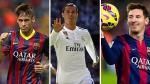 Lionel Messi, Cristiano Ronaldo y Neymar: sus goles son candidatos al mejor de la UEFA - Noticias de salvatore sirigu